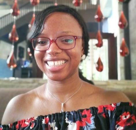 Graphic Designer Frances Okoye